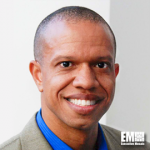 Cedric Sims, Booz Allen's SVP for Justice, Homeland Security, Transportation