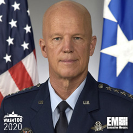 John Raymond, Space Force's Chief of Operations, U.S. Space Command Commander