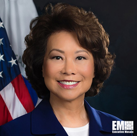 Elaine Chao, US Secretary of Transportation