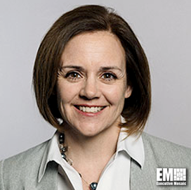 Kristie Grinnell, GDIT's VP for Supply Chain, Global CIO