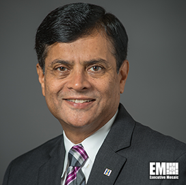 Bharat Amin, EVP and CIO at Huntington Ingalls Industries