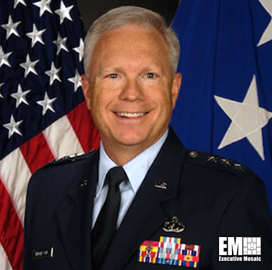 Lt. Gen. John F. Thompson, Commander at Space and Missile Systems Center