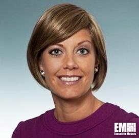 Erin Moseley, VP for Strategy and Business Development at Lockheed's Aeronautics Unit