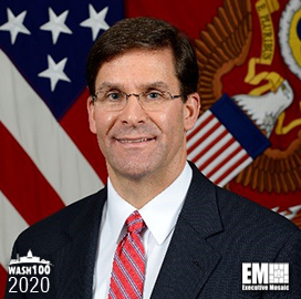 Mark Esper: US Military to Spearhead AI Use Ethically