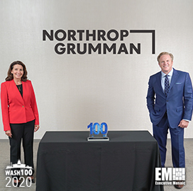Northrop Grumman CEO Kathy Warden Awarded Fifth Wash100 Award