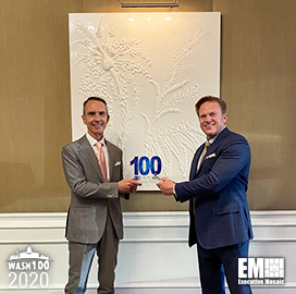 Former ODNI Exec Andrew Hallman Bags First Wash100 Award
