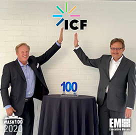 ICF CEO John Wasson Receives First Wash100 Award