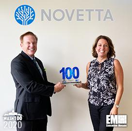 Novetta President, CEO Tiffanny Gates Awarded Second Wash100 Award