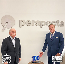 Perspecta's Barry Barlow Receives First Wash100 From Executive Mosaic