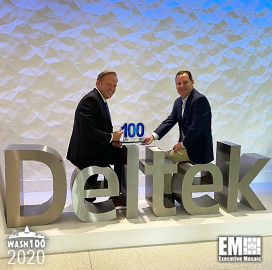 Deltek's Kevin Plexico Wins First Wash100 Award