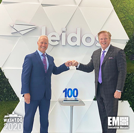 Leidos Defense Group President Wins First Wash100 Award