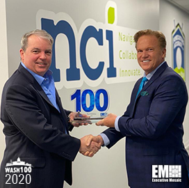 NCI's Paul Dillahay Wins Second Wash100 From Executive Mosaic