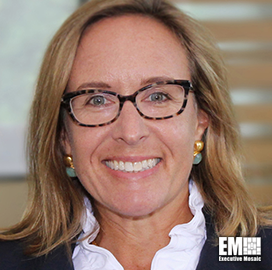 Anne Choate, SVP for Energy, Environment and Infrastructure at ICF