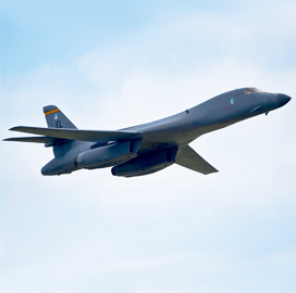 Boeing's B-1B Lancer Seen to Launch Hypersonic Missiles