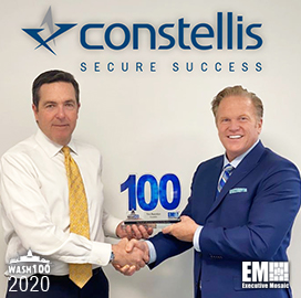 Constellis CEO Tim Reardon Wins Fourth Wash100 Award