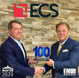 ECS CEO George Wilson Bags Third Consecutive Wash100 From Executive Mosaic