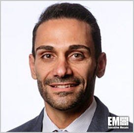 Milad Bahrami, GDIT's Health and Human Services Business Area VP