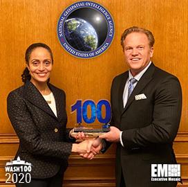 NGA Deputy Director Stacey Dixon Wins First Wash100 Award
