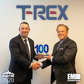 T-Rex Solutions CEO Seth Moore Bags First Wash100 Award