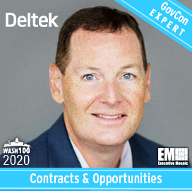 Kevin Plexico, Deltek's SVP of Information Systems