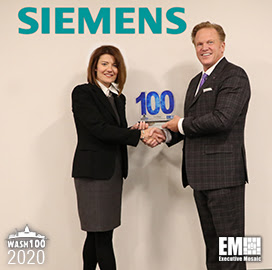 Siemens Government Technologies CEO Tina Dolph Bags Second Wash100 Award