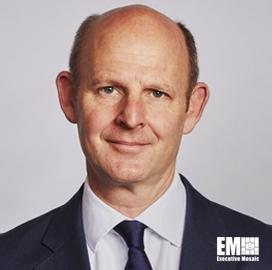 Rupert Pearce, Inmarsat CEO