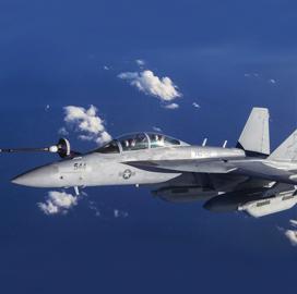Boeing Begins Modification Work on Navy's EA-18G Growler Fleet