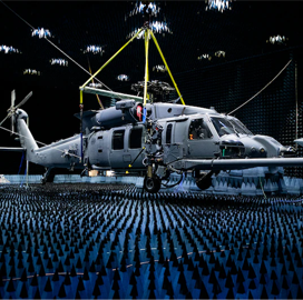 US Air Force Completes Weapons Test of New Combat Rescue Helicopter