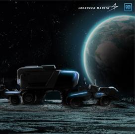 Lockheed, General Motors to Build Lunar Rovers for NASA's Artemis Program