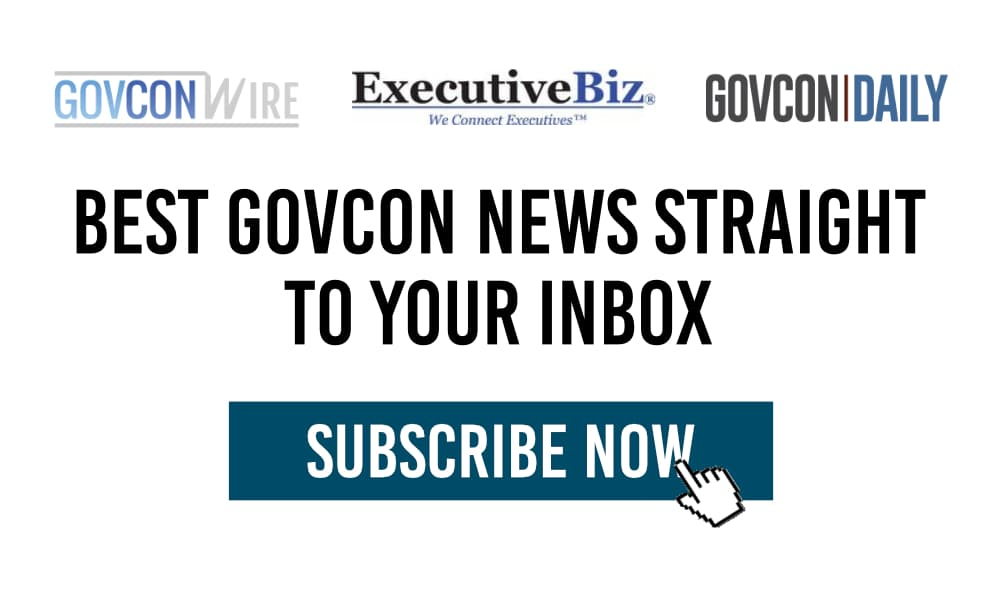 Signup for GOVCON NEWS