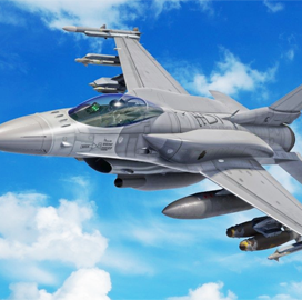 Air Force Delivers In-Flight Software Update to F-16 Aircraft in ABMS Demo