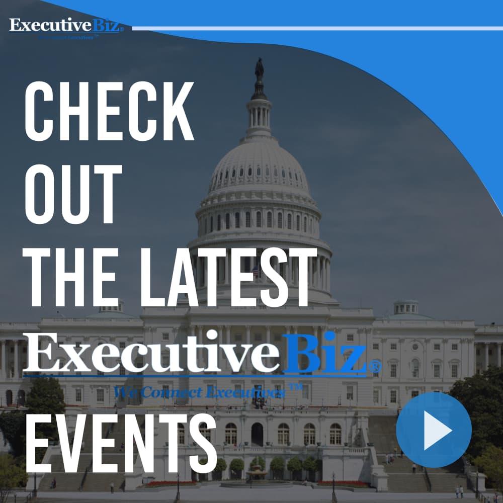 Checkout the latest ExecutiveBiz events