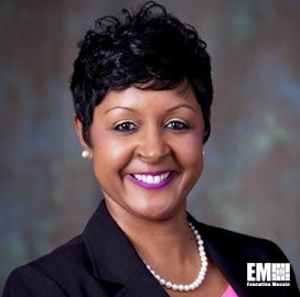 Gina Woullard, Vice President of Manufacturing for Northrop's Aeronautics Unit