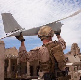 US Marine Corps Tests Backpackable Electronic Warfare System in the Coral Sea
